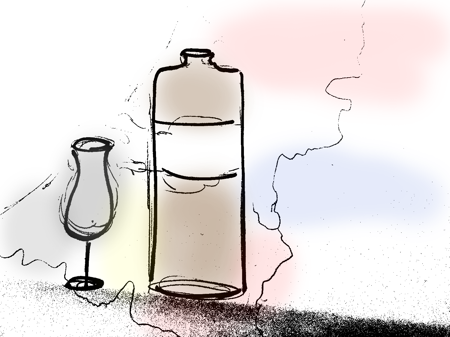 Jenever production is mostly in the Netherlands and in Belgium