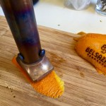 Belsazar vermouth branding stick at Drinkultour