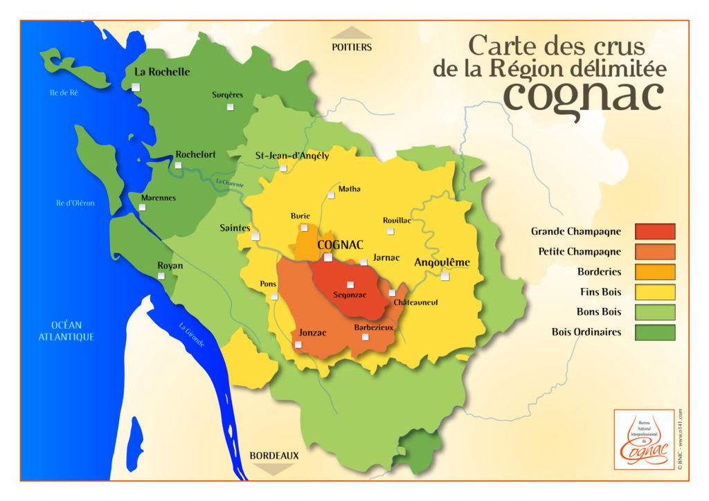 Cognac Regions